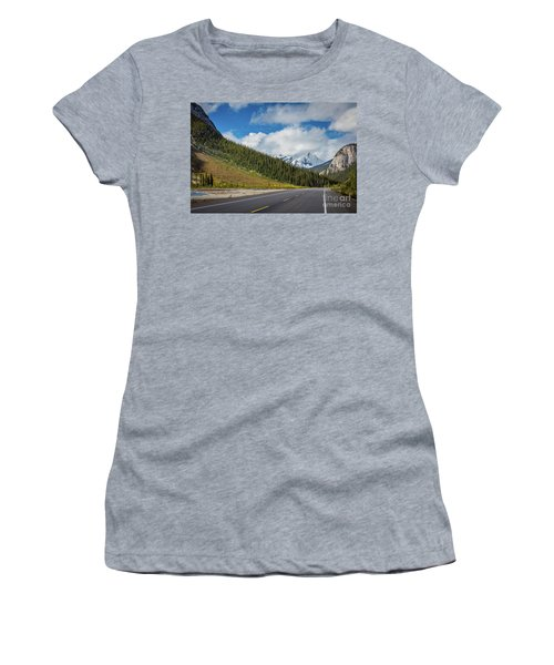 Icefields Parkway Mountains Women's T-Shirt