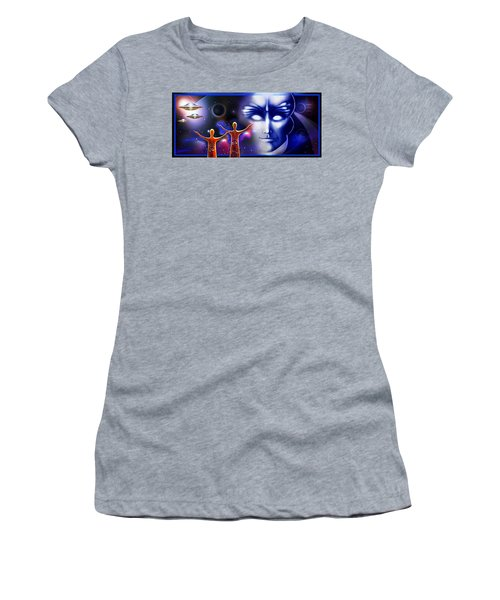 Imagine - What Is Out  There Women's T-Shirt