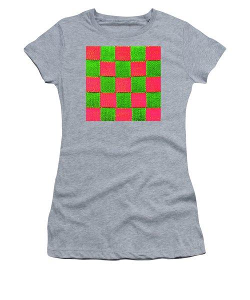 Interlaced Canvas Straps 2 Women's T-Shirt