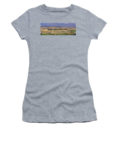 Jerusalem, Israel - Old City Walls Women's T-Shirt