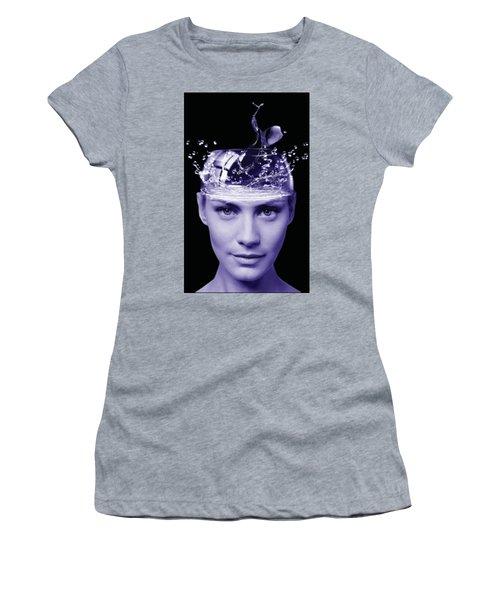 Jestful Water Drops  Women's T-Shirt