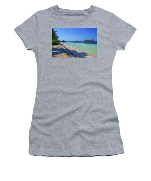Jetty On Isla Contoy Women's T-Shirt