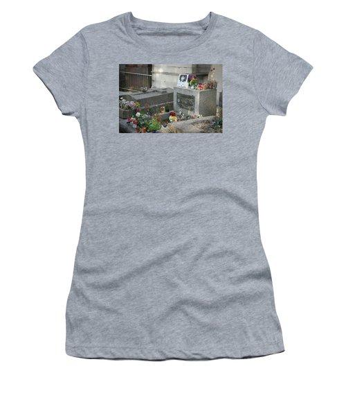 Jim Morrison's Grave Women's T-Shirt