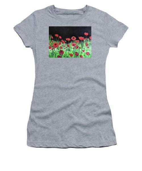 Jon's Poppies Women's T-Shirt