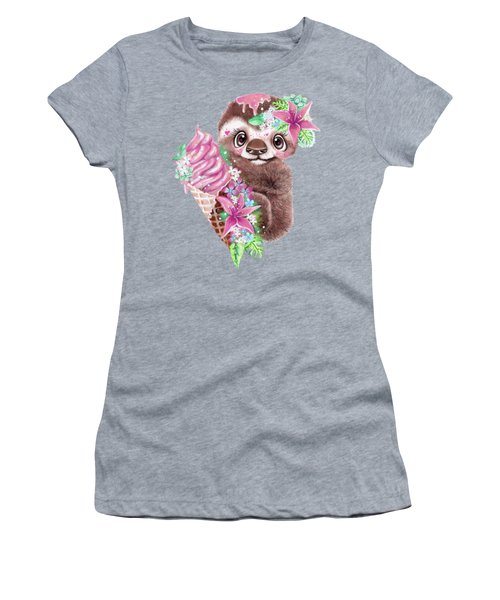 Just Chilln Sloth  Women's T-Shirt