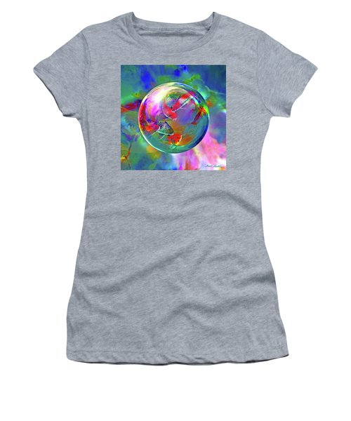 Koi Pond In The Round Women's T-Shirt