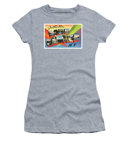 Lake George Greetings Women's T-Shirt
