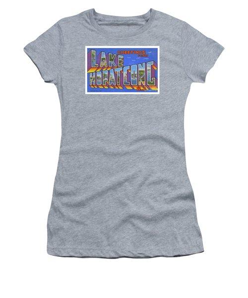Lake Hopatcong Greetings Women's T-Shirt