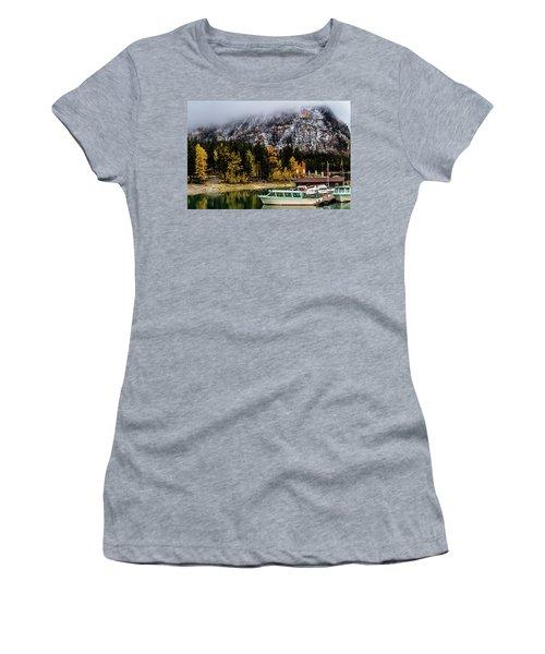 Lake Minnewanka, Banff National Park, Alberta, Canada Women's T-Shirt
