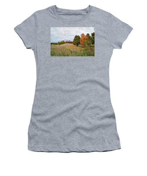 Landscape In The Fall Women's T-Shirt (Athletic Fit)
