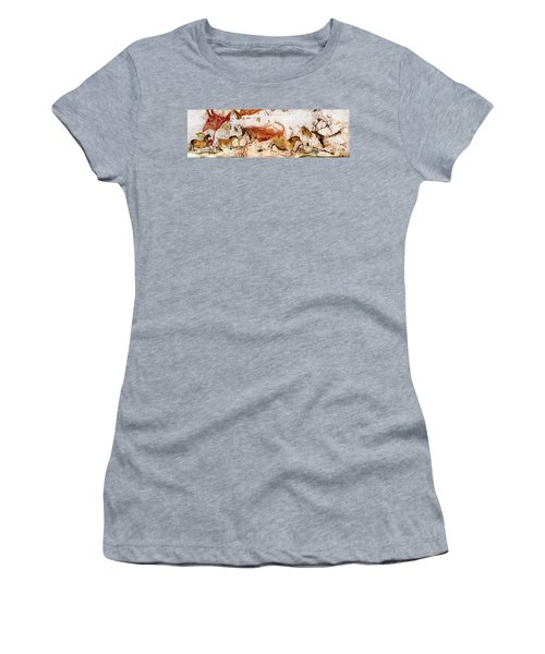 Lascaux Cows Horses And Deer Women's T-Shirt
