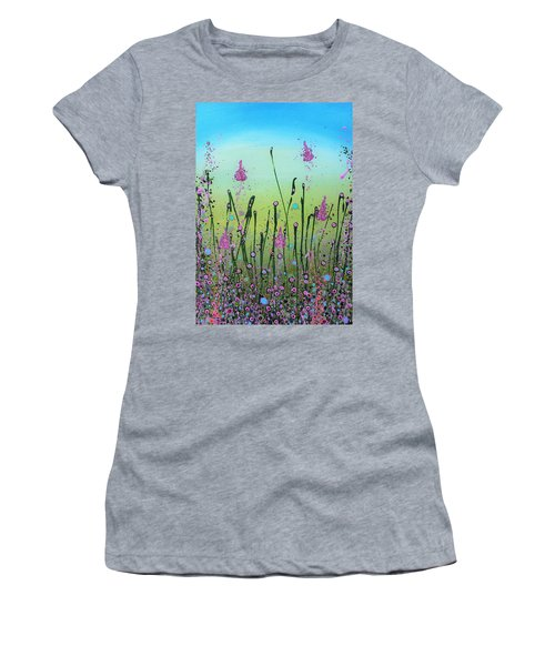 Lilacs And Bluebells Women's T-Shirt