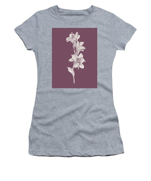 Lily Purple Flower Women's T-Shirt