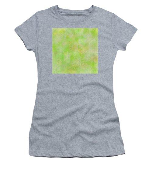 Lime Batik Print Women's T-Shirt
