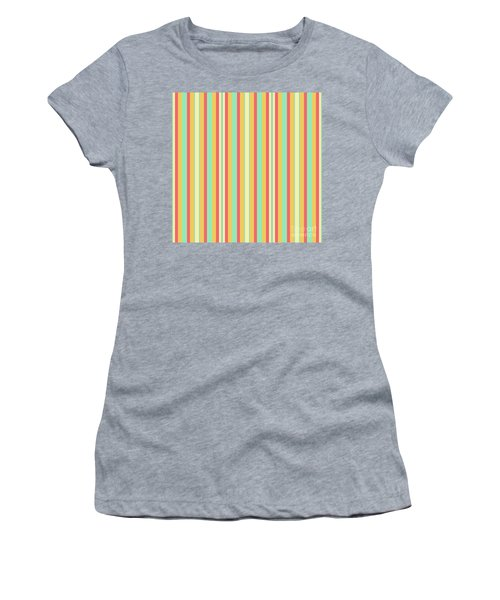 Lines Or Stripes Vintage Or Retro Color Background - Dde589 Women's T-Shirt