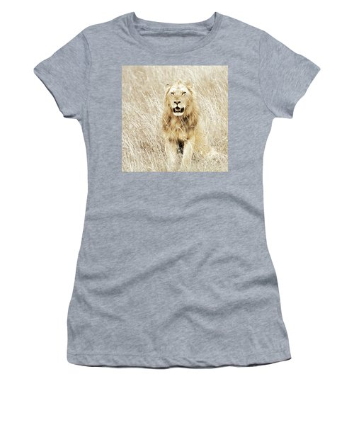 Lion In Kenya Women's T-Shirt