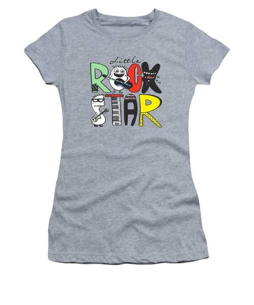 Little Rock Star - Baby Room Nursery Art Poster Print Women's T-Shirt