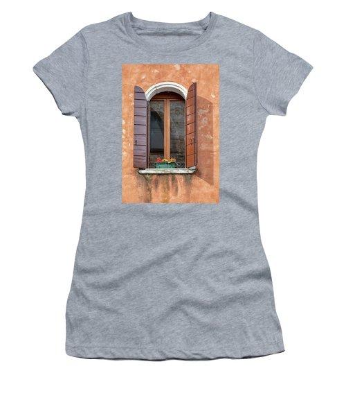 Lone Window Of Venice Women's T-Shirt