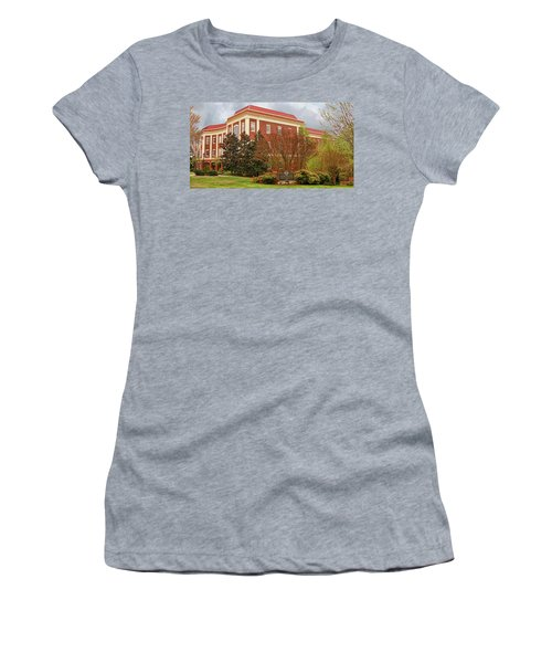 Chichester Hall At Longwood University Farmville Virginia Women's T-Shirt