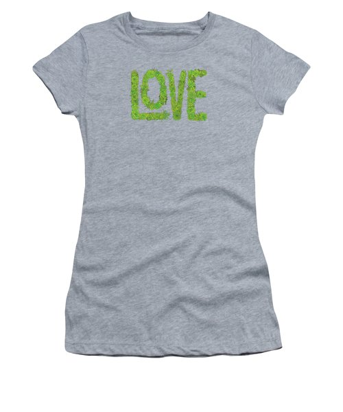 Love Succulent Dark Background Women's T-Shirt