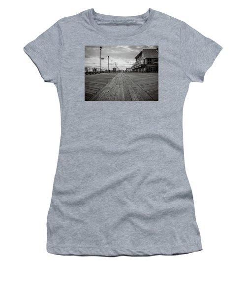 Low On The Boardwalk Women's T-Shirt