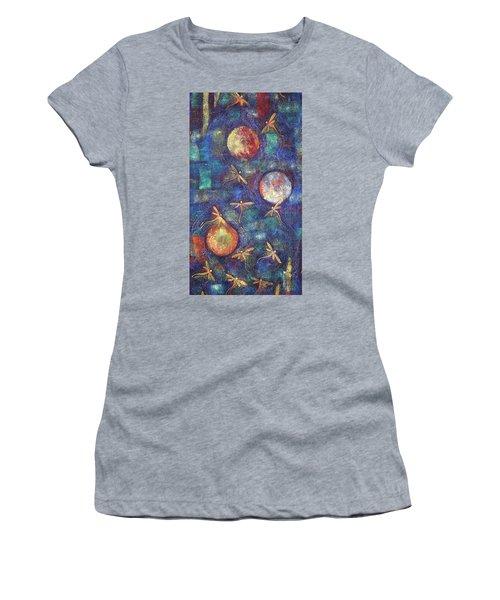 Luminous Dragonflies Women's T-Shirt