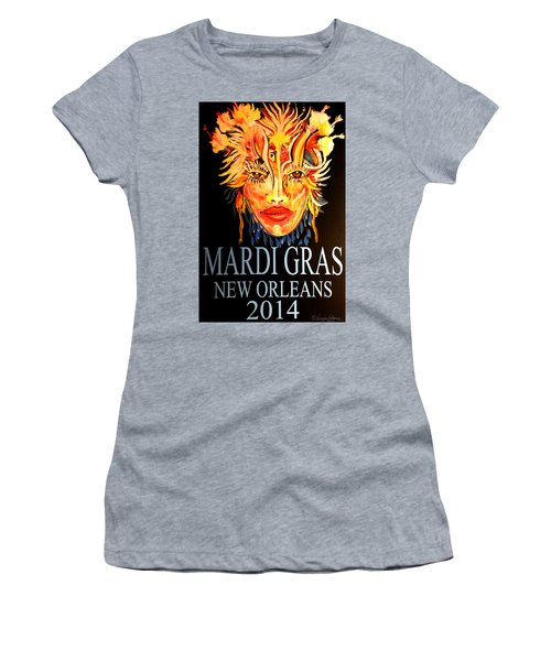 Mardi Gras Lady Women's T-Shirt