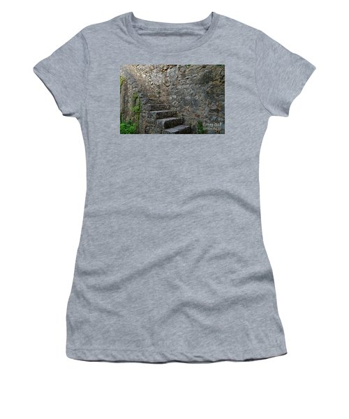 Medieval Wall Staircase Women's T-Shirt