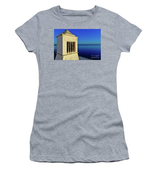 Mediterranean Chimney In Algarve Women's T-Shirt