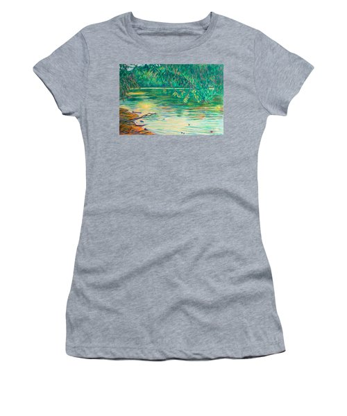 Mid-spring On The New River Women's T-Shirt