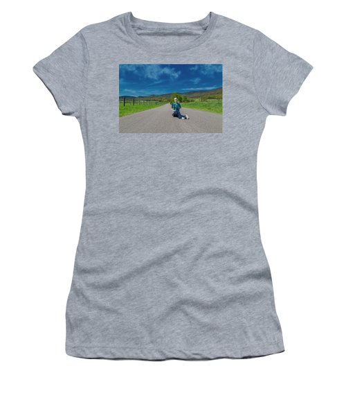 Middle Of The Road Women's T-Shirt