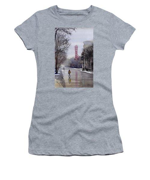 Misty Morning On Stae Street Women's T-Shirt