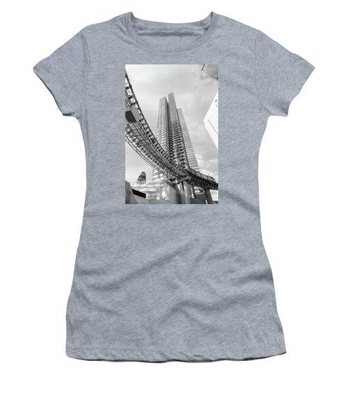Women's T-Shirt featuring the photograph Modern by Alex Lapidus