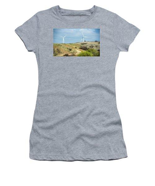 Modern Windmill Women's T-Shirt
