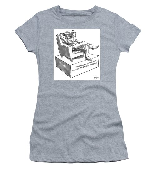 Monument Of The One Who Did The Dishes Yesterday Women's T-Shirt
