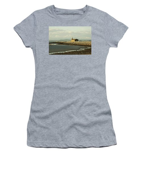 Morecambe. The Stone Jetty. Women's T-Shirt