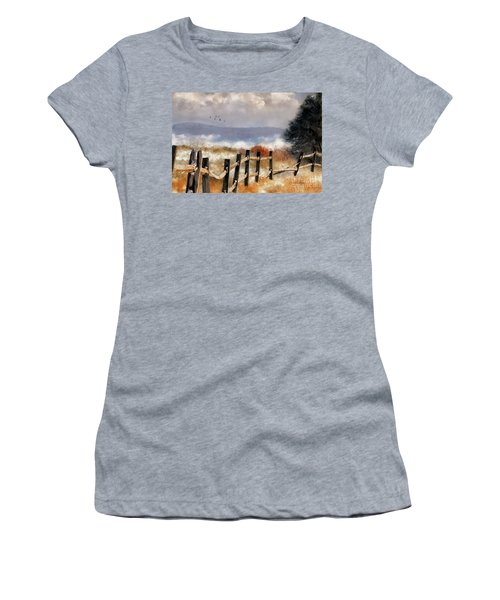 Morning Mists In The Mountains Women's T-Shirt