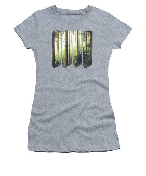 Morning Song - Misty Forest Women's T-Shirt