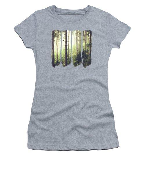 Morning Song - Misty Forest Women's T-Shirt