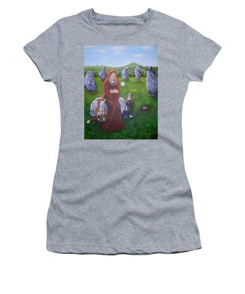 Mother Of Earth Goddess Brigantia Women's T-Shirt