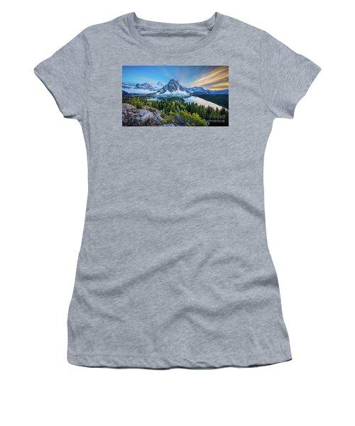 Mt Assiniboine Panorama Women's T-Shirt