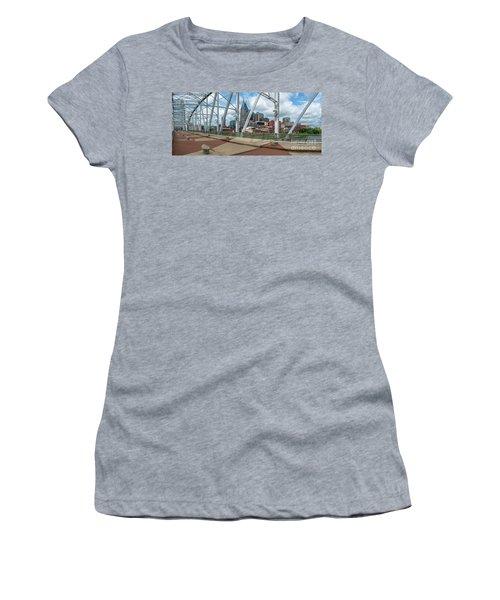 Nashville Cityscape From The Bridge Women's T-Shirt