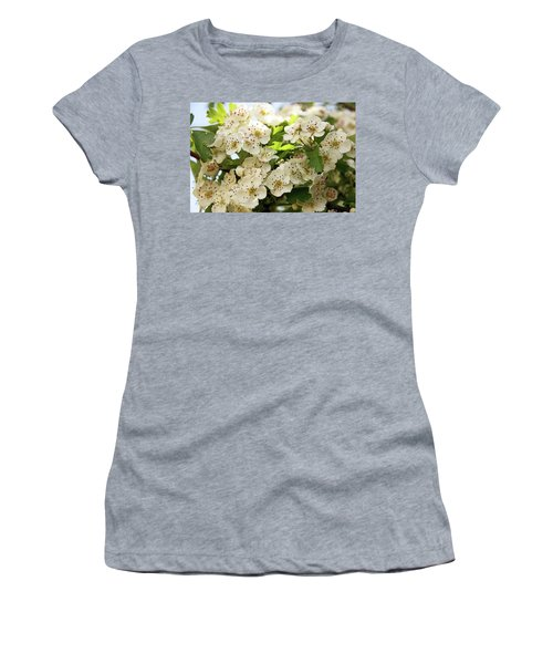 Neston.  Hawthorn Blossom. Women's T-Shirt