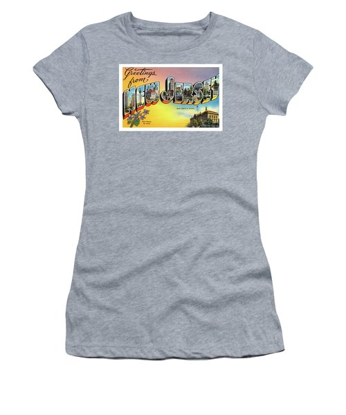 New Jersey Greetings - Version 2 Women's T-Shirt