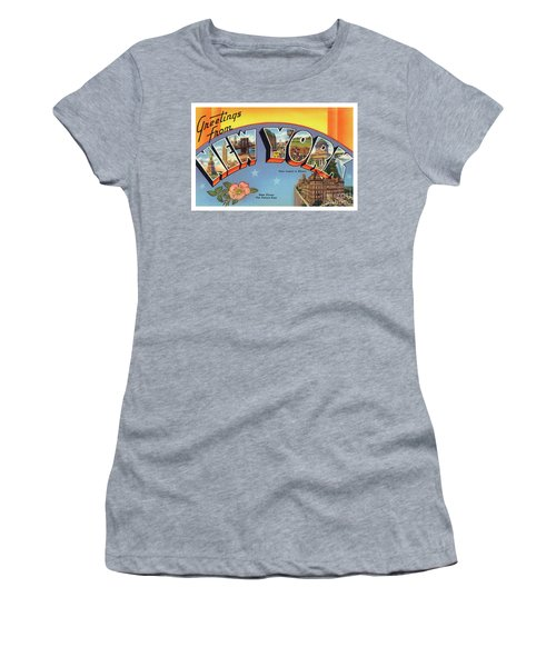 New York Greetings - Version 4 Women's T-Shirt