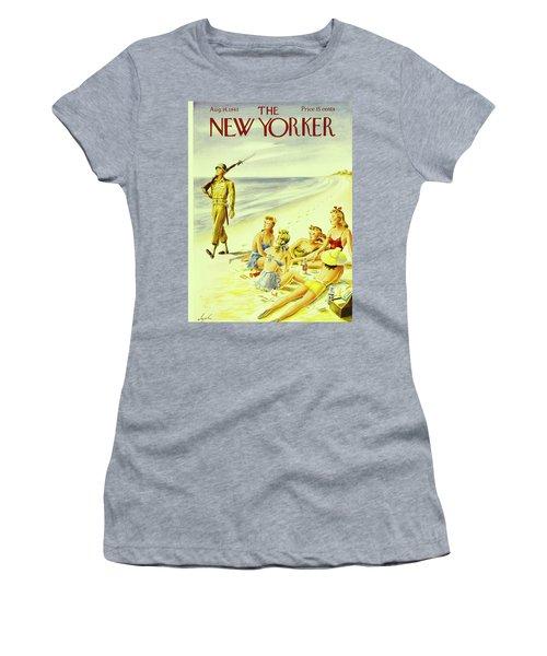 New Yorker August 14th 1943 Women's T-Shirt