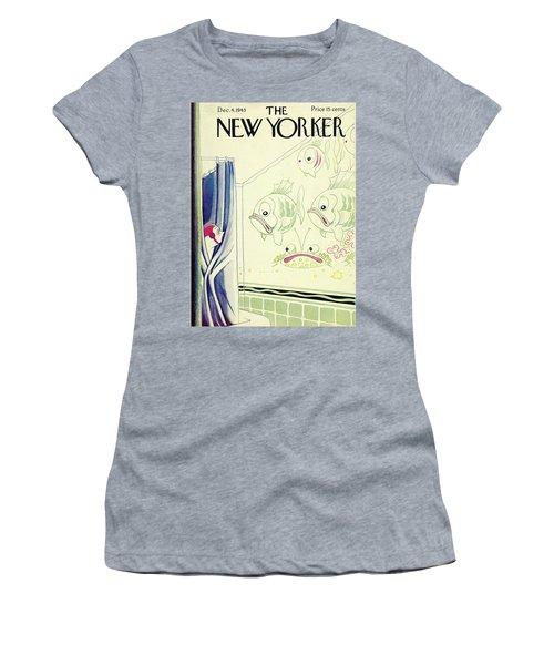 New Yorker December 4th 1943 Women's T-Shirt
