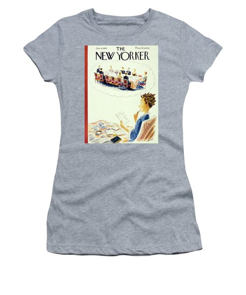 New Yorker January 4th 1947 Women's T-Shirt