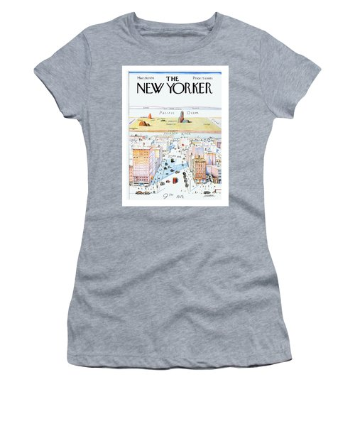 New Yorker March 29, 1976 Women's T-Shirt