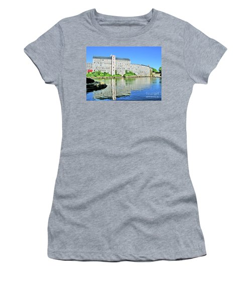 Women's T-Shirt featuring the photograph Newmarket New Hampshire by Debbie Stahre